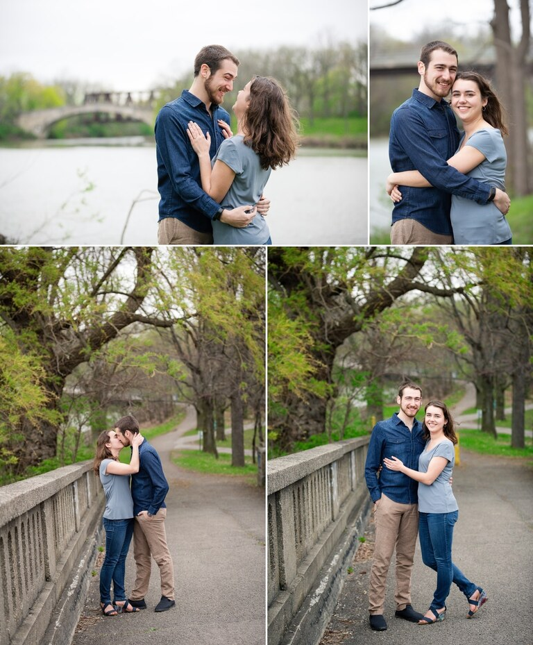 Rochester engagement photographer